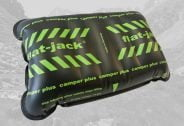 Flat-jack tyre cushion