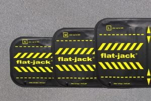 Flat-jack tyre protection set – 4 pieces
